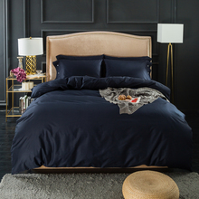 100% cotton duvet cover sets Twin Size Queen Size King Size Solid color Bedding Sets All items can be combined freely