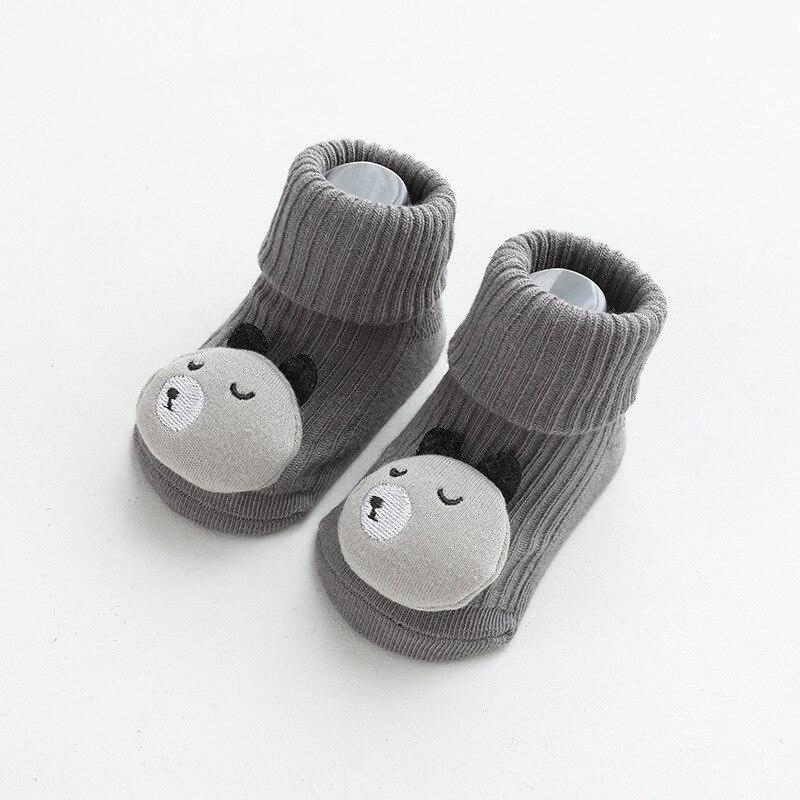 Autumn Winter Soft Cotton Baby Girls Socks Newborn Cartoon Animal Baby Socks Infant Baby Boy Socks Anti Slip Floor Sock Spring 5