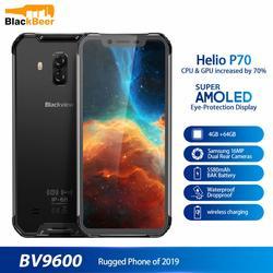 Blackview BV9600 Водонепроницаемый смартфон с 5,7-дюймовым дисплеем, ОЗУ 4 Гб, ПЗУ 64 ГБ, Android 9,0, 6,21 мАч
