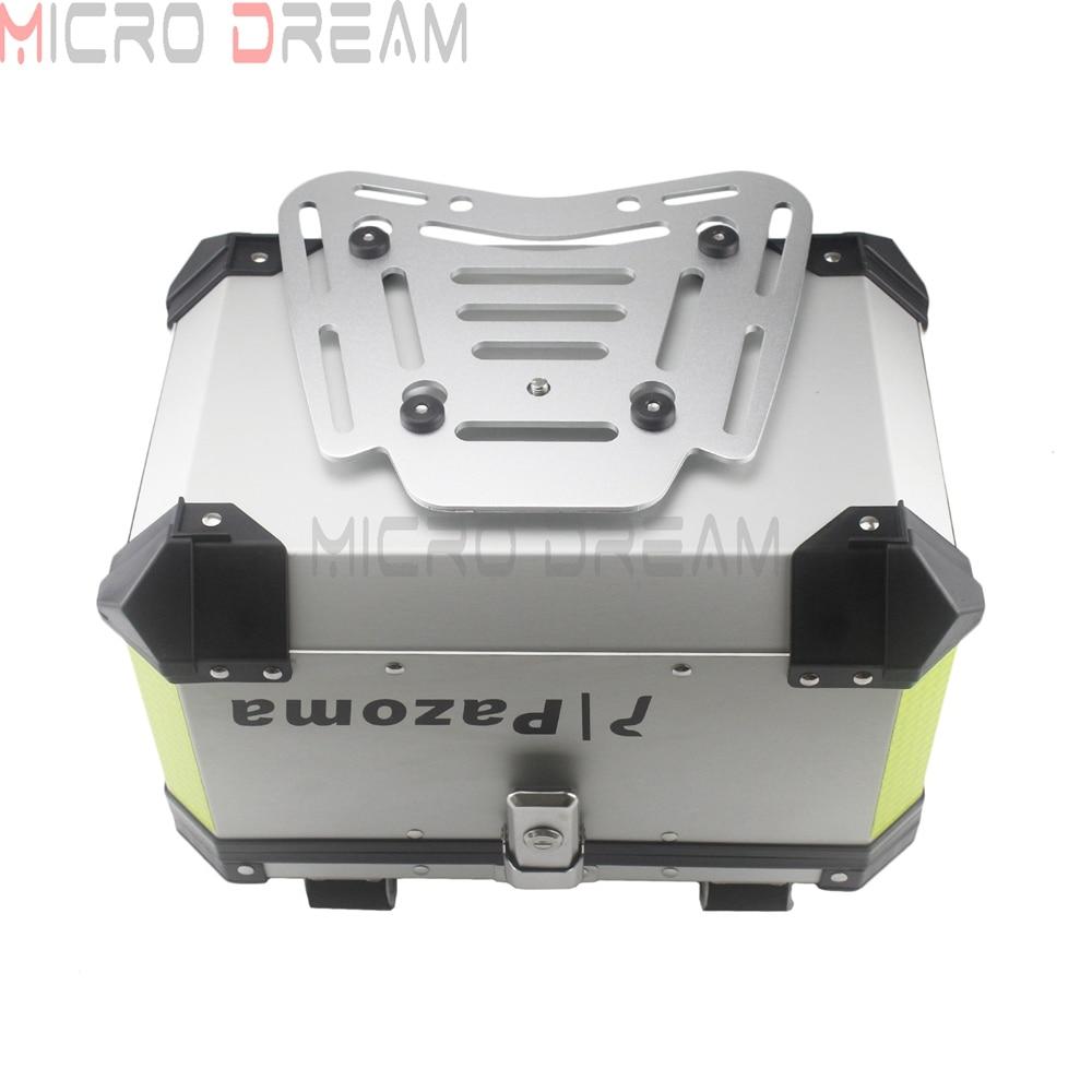 Caixa Da Cauda De Alumínio Caso Moto