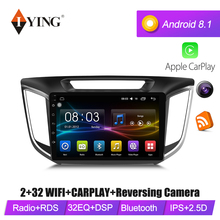 IYING Android 8.1 For hyundai IX25 creta 2014-2018 4G Car dvd Radio multimedia player GPS Navigation  10.1