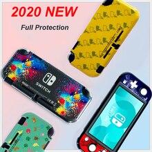 Protecive Abdeckung Fall Umwelt Freundliche PC Haut Fit für Nintend Schalter Lite für Nintendo Schalter Mini Konsole