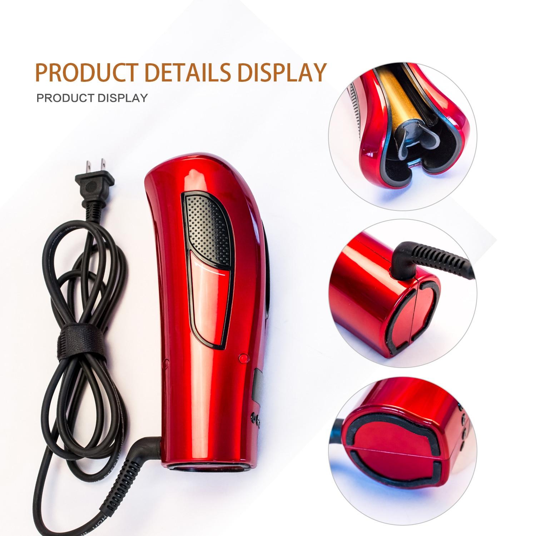 Cerâmica automática curling ferro modelador de ar spin & n curl 1 Polegada cerâmica rotativa curler curlers ferramentas de limpeza estilo do cabelo