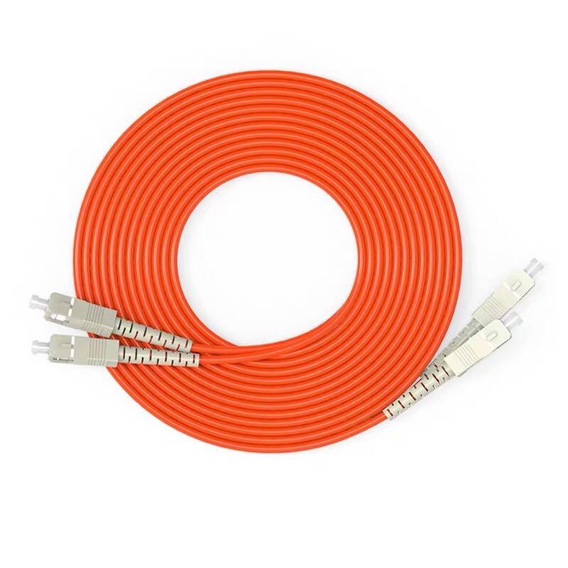 50 Meters SC SC Fiber Optic Cable MultiMode Duplex Patch Cord OM2 50/125|Fiber Optic Equipments| |  - title=