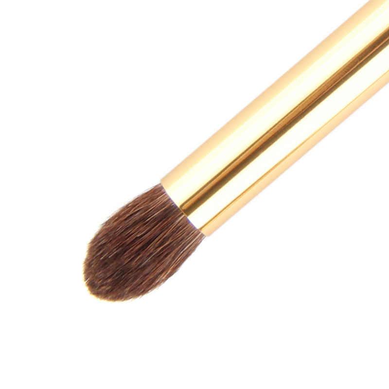 1Pcs Anmor Profesional Lembut Rambut Kuda Kayu Membuat Eye Shadow Kuas Blending Shader Kosmetik Perawatan Kulit Makeup Brush