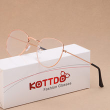 Классические круглые оптические очки с защитой от синего света