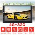 Автомагнитола 2 DIN, 7 дюймов, Android 9,0, 4 + 32 ГБ, MP5, 8 ядер, сенсорный экран, 4G, Wi-Fi, bt