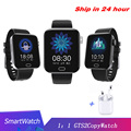 Reloj deportivo inteligente de moda, rastreador de Fitness, presión sanguínea Singletouch, banda impermeable para hombres y mujeres PK GTS2, reloj inteligente 1: 1 para Xiaomi
