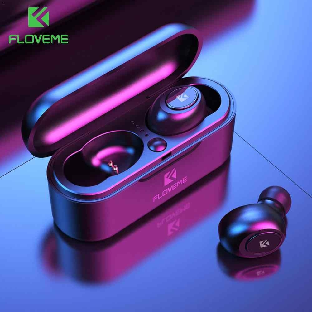 FLOVEME Mini TWS Bluetooth 5.0 słuchawki bezprzewodowe