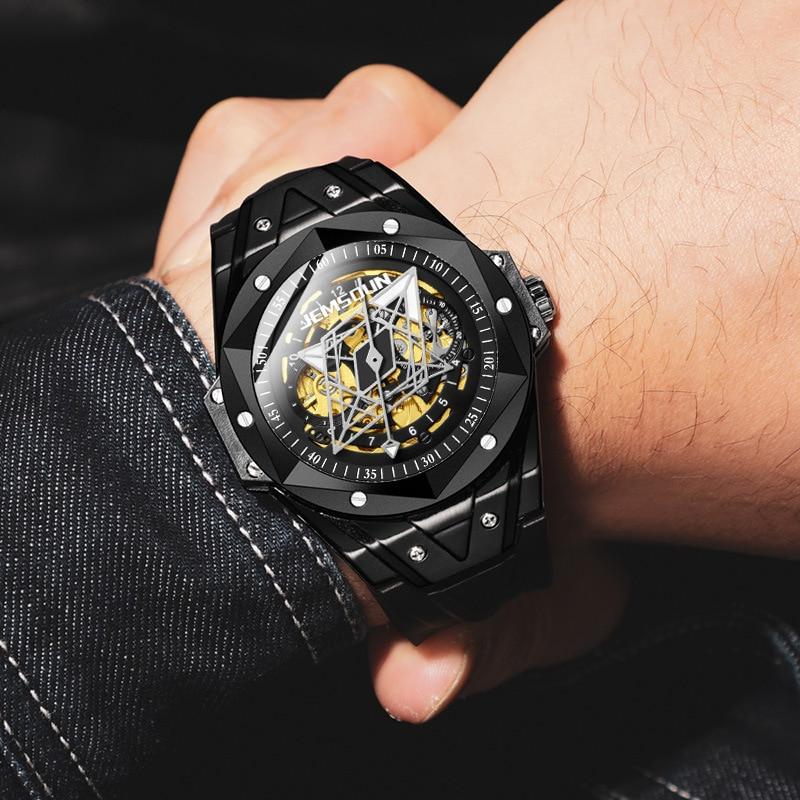 2021 nova marca kimsdun relógios mecânicos automáticos