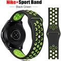 Ремешок силиконовый для Samsung Galaxy watch 3 45/46 мм/42 мм gear s3 /Active 2, браслет для huawei watch gt 2-2e-pro, 20/22 мм