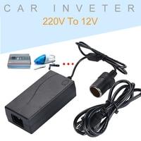 Adaptor Transverter Durable Socket Home Automotive 60W AC 220V To DC12V Portable Adapter|Car Inverters| |  -