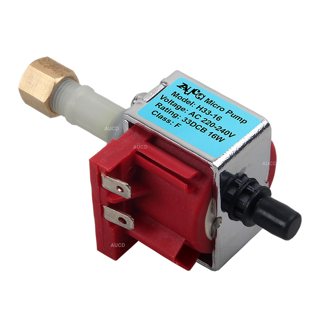 AUCD AC 90-240V 16W 33DCB For 400W 500W Fog Machine Oil Pump Smoke Steam Iron Fogger Beauty Water Apparatus Motor Parts H33-16