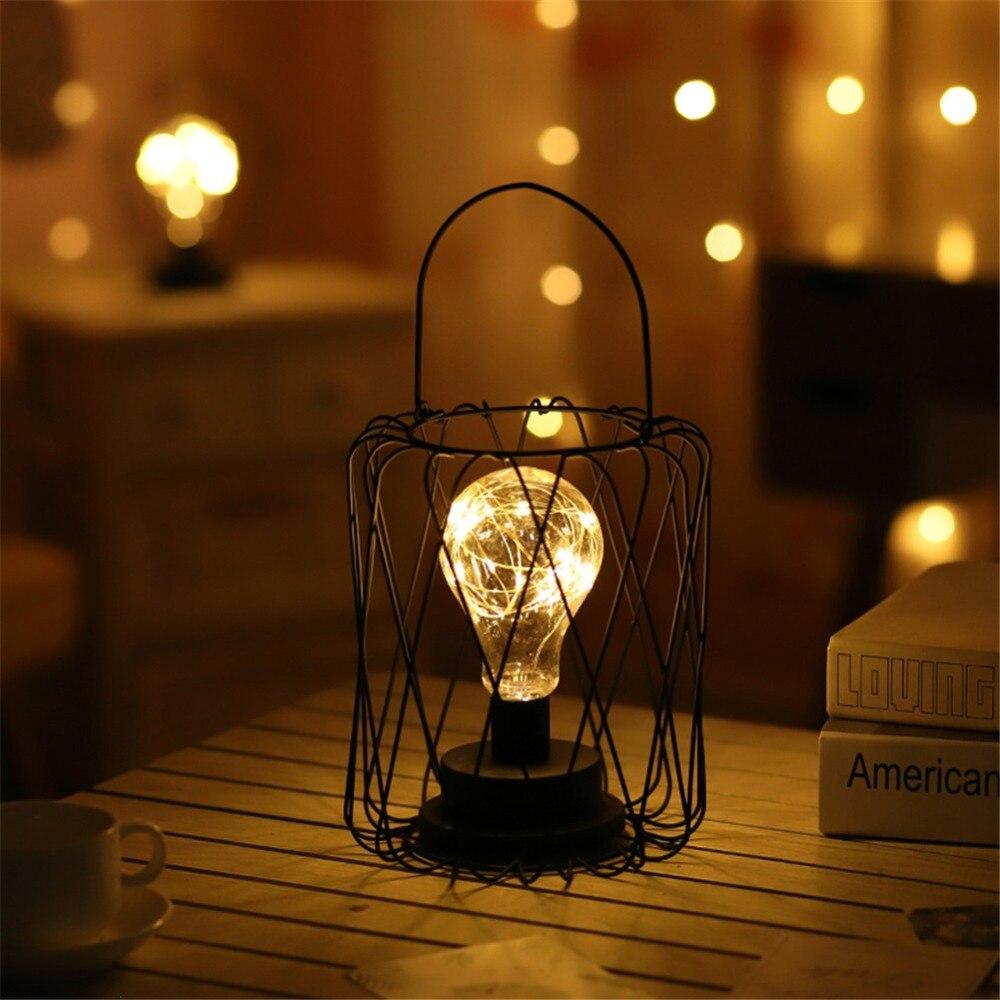 Lampe  déco fer forgé  | OkO-OkO-detail