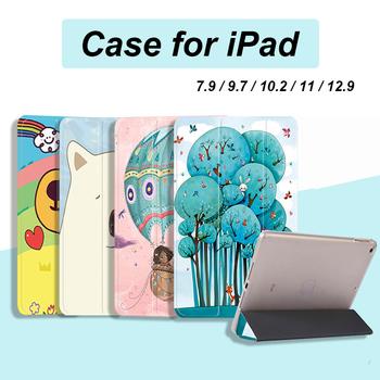 Etui na iPad Air 4 Pro 11 2020 2021 śliczne etui na iPad 8 Generacji 8 10 2 6 7 Generacji Air 3 Pro 10 5 Mini 5 4 okładka tanie i dobre opinie MIGALOO Powłoka ochronna skóry 10 8 CN (pochodzenie) 99551515656 Floral 16inch Dla apple ipad Do iPada Air moda for iPad Air 4 Case 2020
