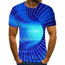 Новинка 2020 3d футболка летняя модная оверсайз Мужская в стиле