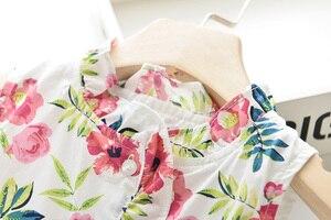 Image 3 - Robes pour filles DD & MM, robe de princesse pour enfants, col rond, vêtements pour enfants, nouvelle collection 2020