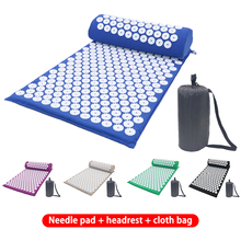 Cushion Pillow Acupressure-Mat Relieve-Stress Back-Pain Yoga Massager Lotus for Body-Relaxation