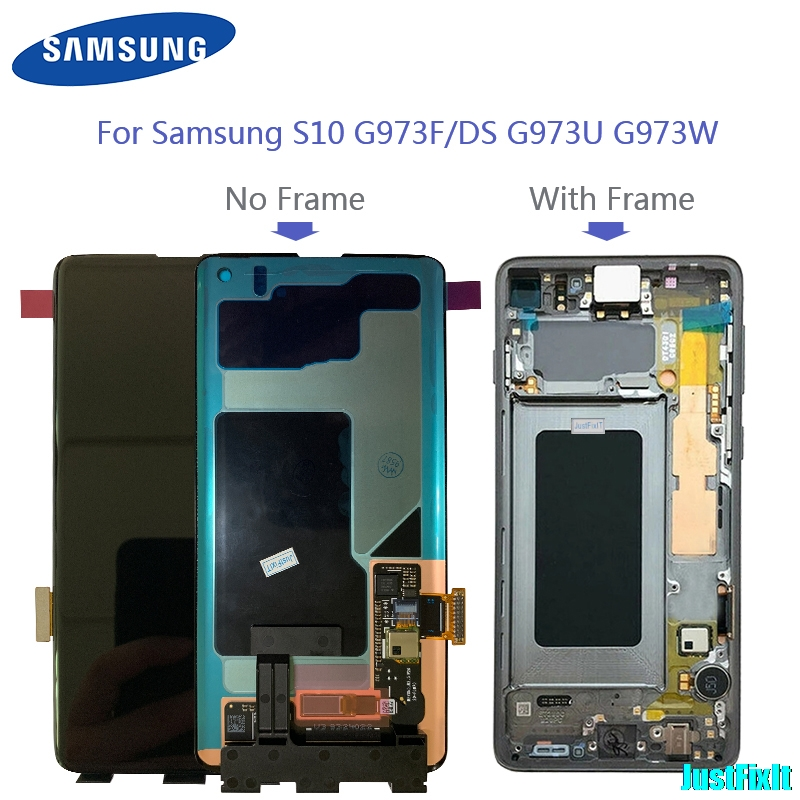 Original Super AMOLED ScreenFor <font><b>Samsung</b></font> Galaxy <font><b>S10</b></font> 2019 G9750 Display Touch <font><b>Screen</b></font> Digitizer Assembly For <font><b>SAMSUNG</b></font> <font><b>S10</b></font> Plus <font><b>LCD</b></font> image