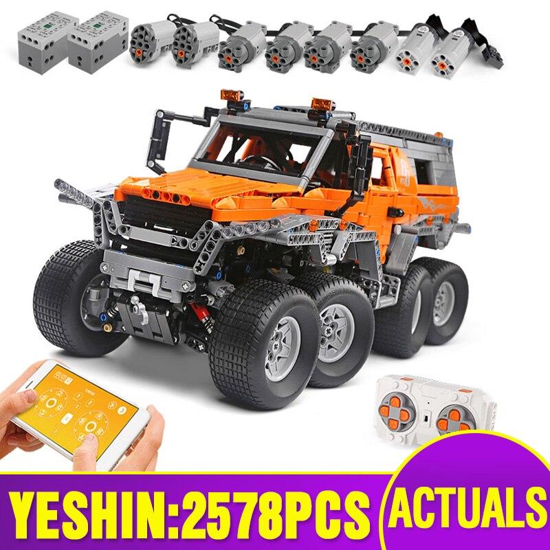 Dhl 23011 23011b técnica carros série fora-de-estrada veículo modelo brinquedos kits de construção blocos tijolos compatíveis com 5360 brinquedos modelo de carro