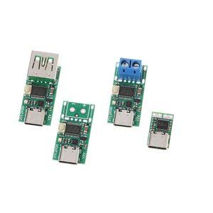 Image 2 - كاشف شرك الشحن السريع من النوع C يعمل بمنفذ USB كاشف استطلاعات زناد PD 5A 9 فولت/12 فولت/15 فولت/20 فولت إختبار أتوماتيكي 95AD