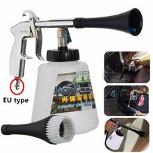 Tornador Car Air Cleaning Gun Surface Interior Exterior Air Washing Tool EU Plug Car Motorcycle Glass Window Leather Cleaner Gun