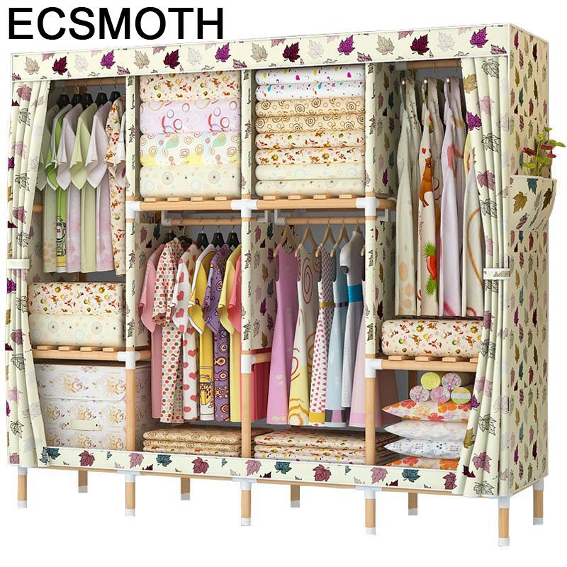 Kleiderschrank Armoire Ropero Dressing Penderie Chambre Rangement Moveis Mueble De Dormitorio font b Closet b font
