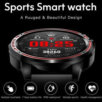 L8 Smart Watch Men watch IP68 Waterproof SmartWatch ECG Blood Pressure Heart Rate sports fitness pk L5 L9 smart watch