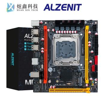 цена на ALZENIT X79I-CE3 Desktop Motherboard For Intel X79 LGA 2011 Xeon E5 Support DDR3 ECC/REG 64GB With M.2 NVME/NGFF USB2.0 SATA3.0