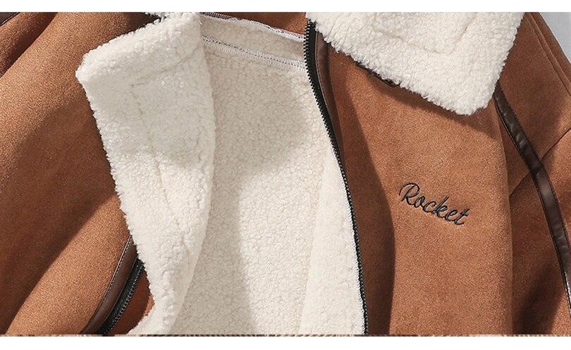 H9c2ef822514043f2bde8aa6865e3bd40G Men Autumn Casual Warm Fleece Military Leather Jackets Parkas Men Winter Windproof Waterproof Outwear Parka Coat Jackets Men