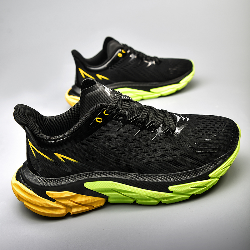 Men s Sports Shoes Sneakers 2021 New Shock Absorption Air Cushion Ultra Light Breathable Men Casual