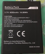 Original ZUG 5S battery For MANN ZUG 5S 5SQ 4050mAh Cellphone smart Mobile phone 3.7V batteria