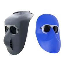 Welding Mask Elastic Band Head Wearable Half Helmet Argon Arc Cap Eyes Protecting Welders Face Shield Head Protector