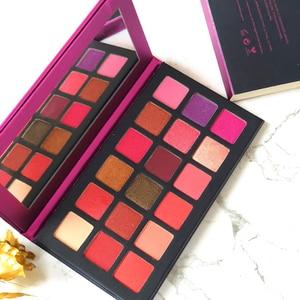 Image 2 - 18Colors Eyeshadow Palette Matte Maquiagem Profissional Completa Bright Shimmer Makeup Pallete Long Lasting Eye Shadow Palette