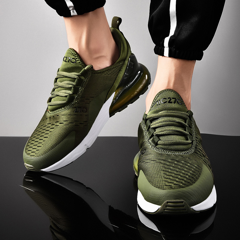 Man Breathable Sports Running Shoes Lightweight Boy Air Sole Cushioning Gym Training Trail Tenis Gym Sports Shoes Men Sneakers