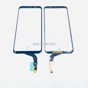 Image 3 - オリジナル携帯電話のタッチパネルデジタイザセンサータッチスクリーン外側ガラスの交換サムスンS7edge S8 + Note8画面