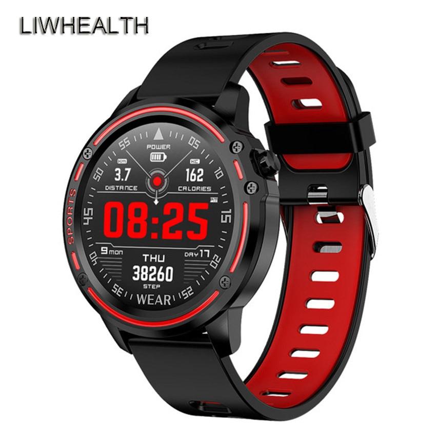 320mAh Gorilla Smart Watch Men IP68 Swim Reloj HR ECG PPG Smartwatch Sportwatch For Apple/Xiaomi/Huawei VS Mi Band 4/Fit bit 5|Smart Watches| |  - title=