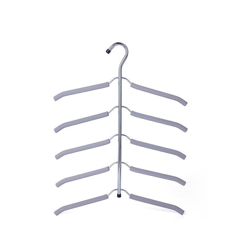 Вешалка для одежды, органайзер для одежды, 1 шт., многослойная вешалка для одежды, вешалка для одежды, Perchas Para La Ropa, крючок, вешалки - Цвет: 15 40X56.5cm