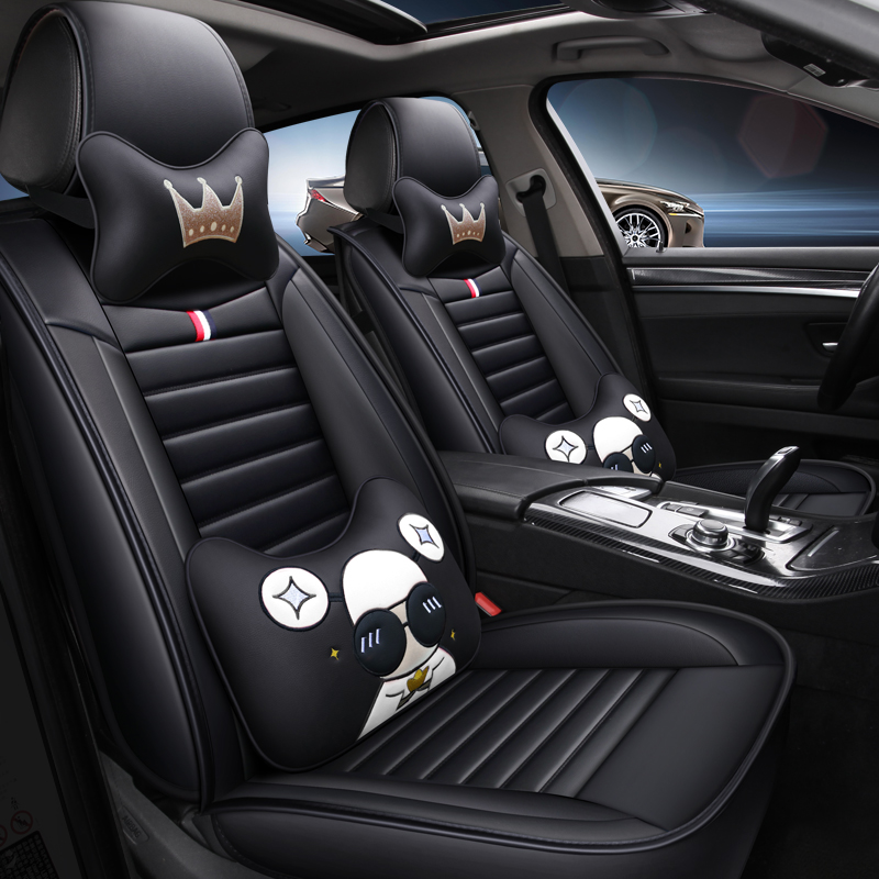 Cartoon Leather car <font><b>seat</b></font> <font><b>cover</b></font> for <font><b>mazda</b></font> <font><b>CX</b></font>-5 6 gh <font><b>3</b></font> 5 <font><b>cx</b></font> 7 <font><b>CX</b></font>-9 all models car accessories auto styling image