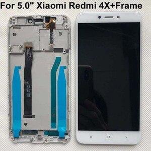 """Image 2 - Oryginalny Test 5.0 """"IPS LCD dla XIAOMI Redmi 4X wyświetlacz ekran dotykowy Digitizer z ramką dla Xiaomi Redmi 4X wyświetlacz LCD naprawa"""