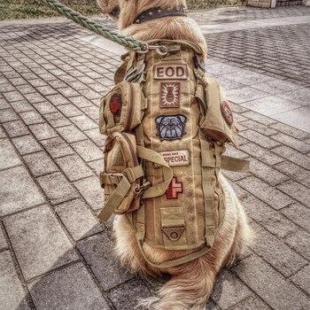 Large and Medium-sized Dogs Autumn and Winter Pet Golden Retriever Tactical Vest DEMU Big Dog Outdoor Wear-Resistant Vest
