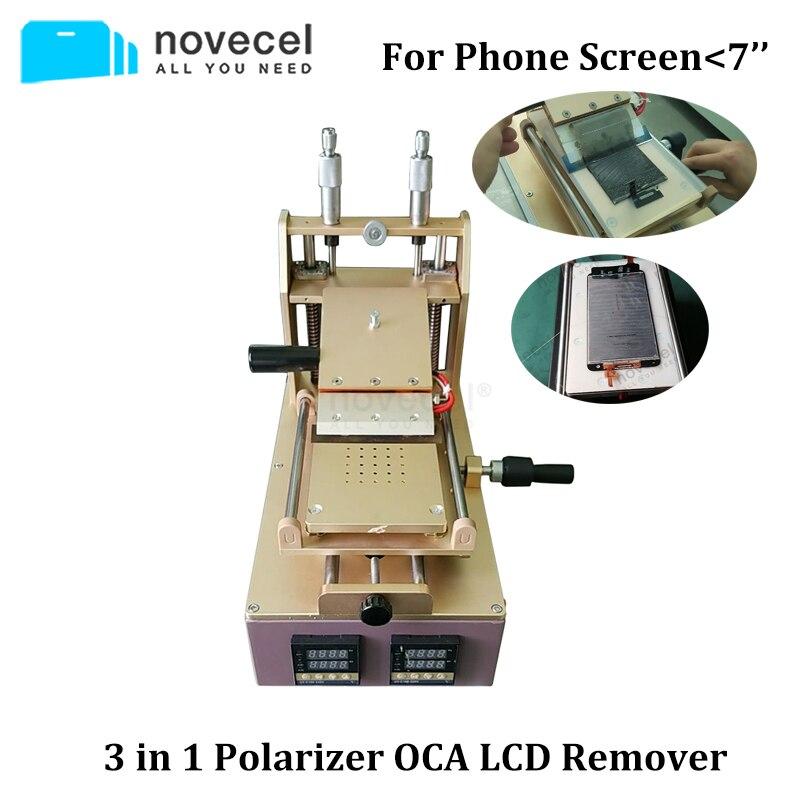 3-In-1 Vacuum-Lcd-Screen-Separator Polarizer-Remover Mobile-Phone Novecel For Lcd-Repair