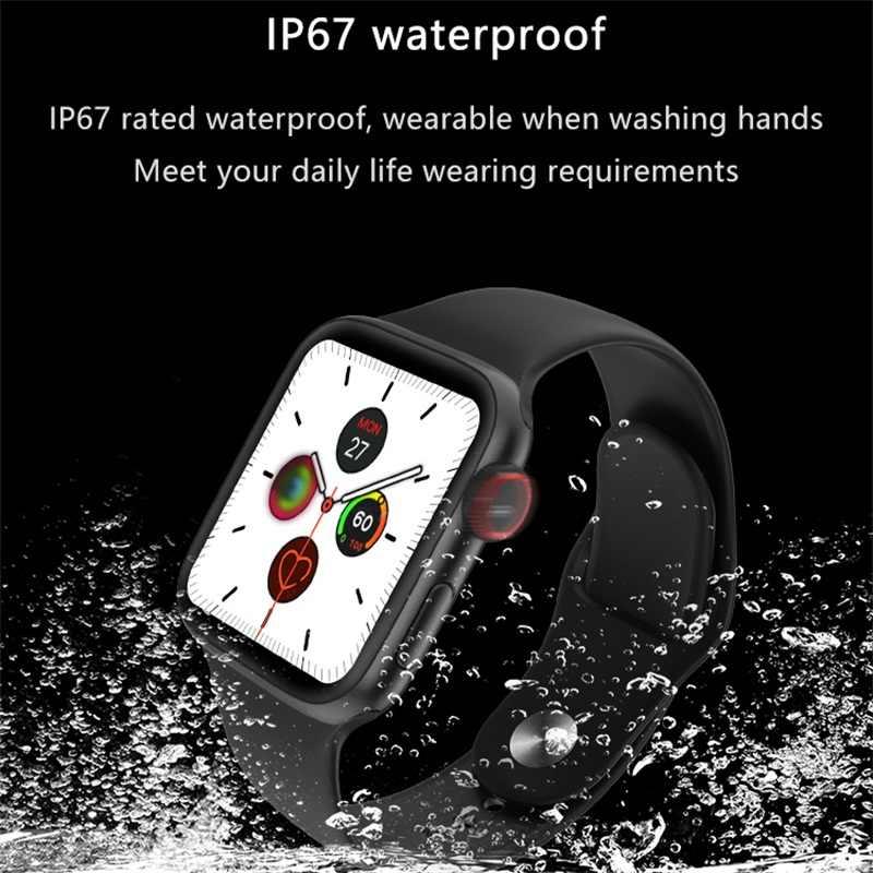Torntisc AP1 Smartwatch mężczyźni kobiety opaska monitorująca aktywność fizyczną tętno w pełni dotykowy inteligentna opaska na rękę bransoletka tańsze dla Amazfit Gts Xiaomi