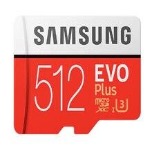 Samsung evo + micro sd 32gb 64gb 128gb 256gb 512gb sdhc 100 mb/s classe 10 cartão de memória c10 UHS-I tf/sd cartões flash trans sdxc