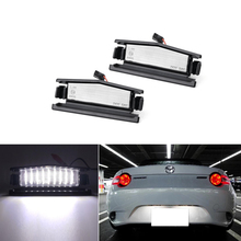 LED License Plate Light For  Mazda MX 5 Miata 2016 Up,Powered by 18 SMD Xenon White LED
