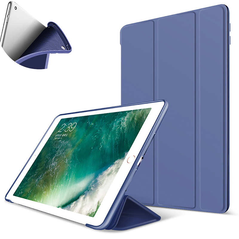 Чехол для iPad 5, 6, 9,7 дюйма, 2017, 2018, 7, 10,2 дюйма, 2019, Mini 5, Air 3, 10,5 дюйма, новый Pro 11, мягкий силиконовый чехол из ПУ, умный чехол для сна|Чехлы для планшетов и электронных книг|   | АлиЭкспресс