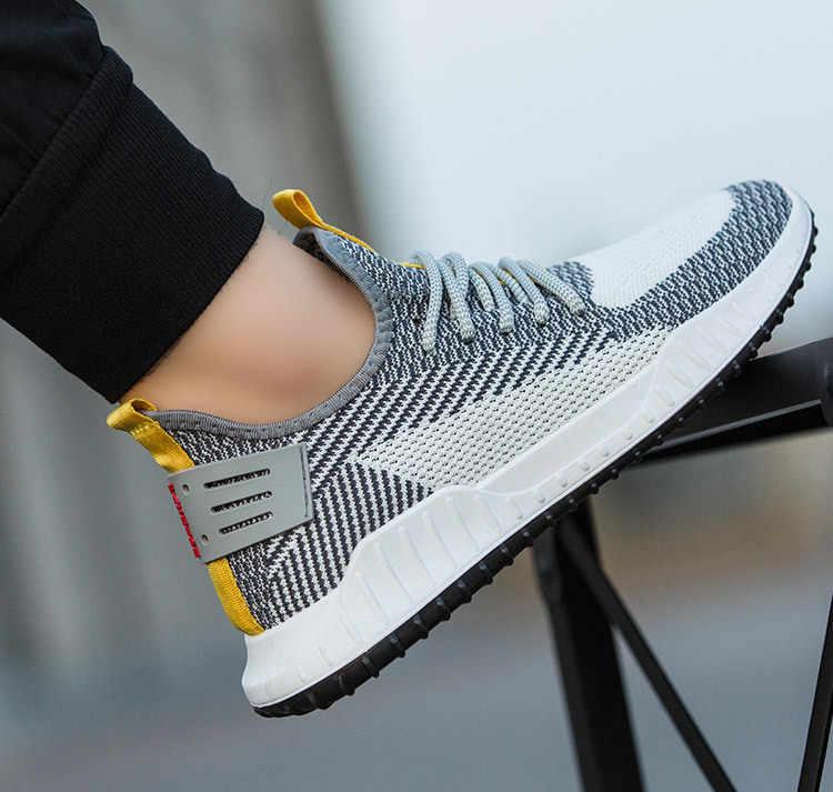 ДОСТАВКА ИЗ РОССИИ Casual Sneaker 2020 Männer Schuhe Lace Up Männer Schuhe Licht Walking Schuhe Männer Turnschuhe Männlichen Trend Schuhe c8225