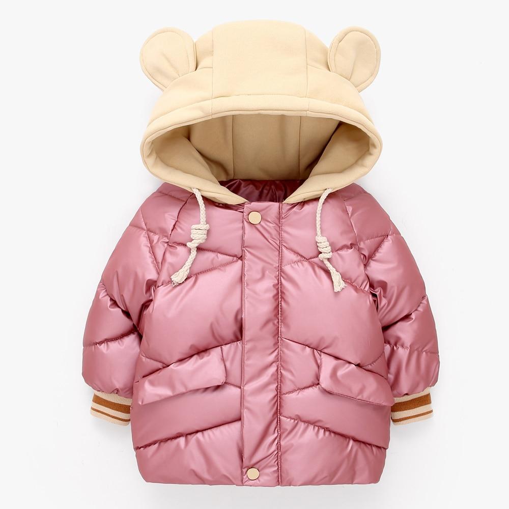 LZH Baby Girls Jacket 2020 Autumn Winter Jacket For Girls