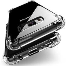 Transparent ShockProof Phone Case For Samsung
