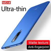 Un plus 7 caso Msvii Slim de Coque para Oneplus 8T 6T 7 T Pro caso Oneplus8 cubierta dura de la PC uno más 8 Pro Nord 6 7 caso